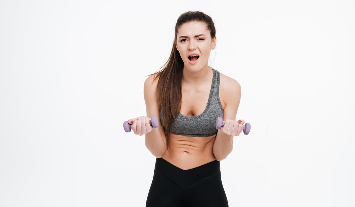 niewłaściwe wykonywanie ćwiczeń