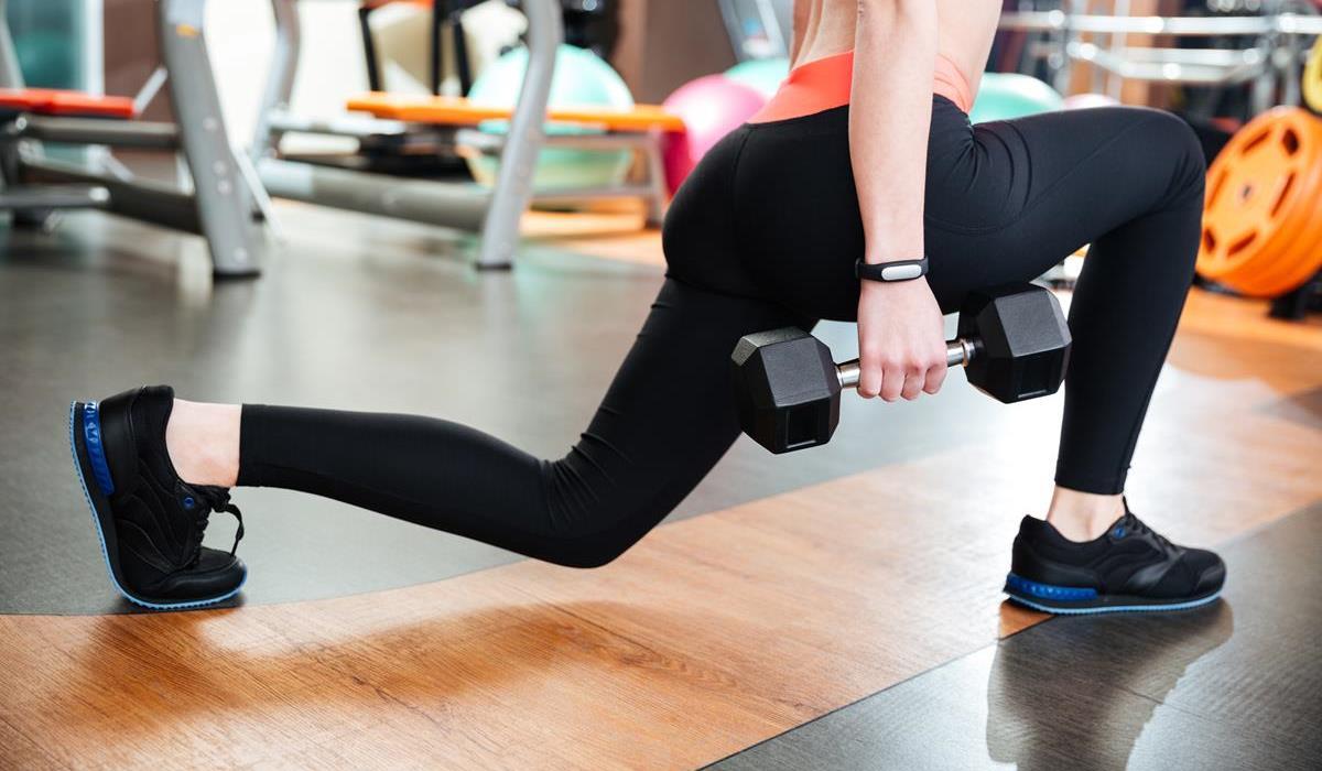 wykroki - ćwiczenie na uda