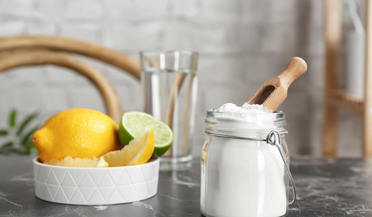 soda oczyszczona z cytryną na odchudzanie