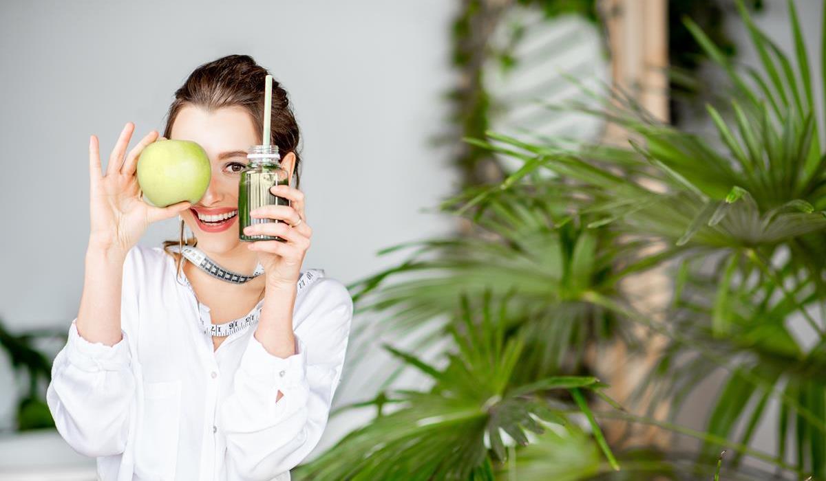 zielone koktajle - składniki
