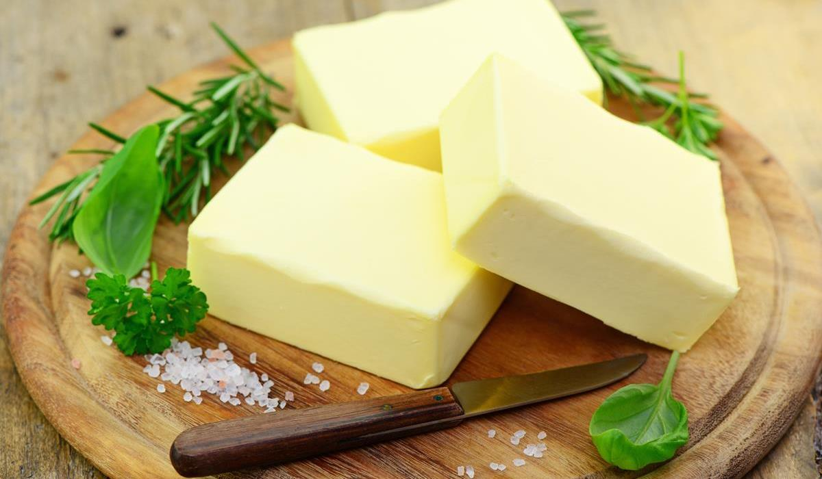 kostki masła