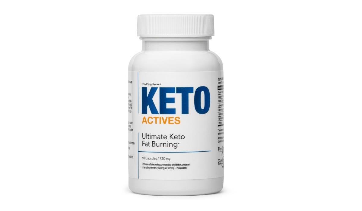 Keto Actives - tabletki na odchudzanie